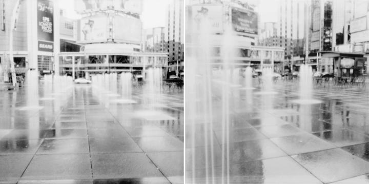 Kevin Charlie pinhole + dundas square